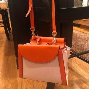 Kate Spade Saturday orange handbag